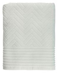 Badetuch aus Ziegelstein | Off-white