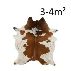 Cow Skin 3-4M2 | Brown & White