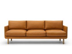 3 Seater Sofa Emo | Cognac Analin Leather