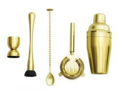 Cocktail-Shaker-Set Las Vegas | Gold