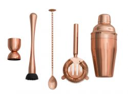 Cocktail Shaker Set Las Vegas | Copper