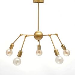 Hanglamp James | Goud