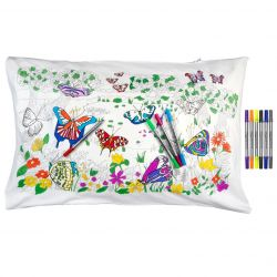 Pillowcase Butterfly 75 x 50 cm