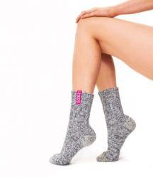 Woman's Socks Medium | Bubblegum