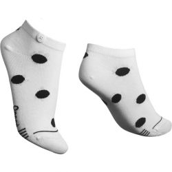 Damen-Socken Low Bubble | Weiß
