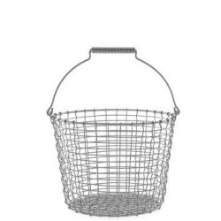 Bucket 16 Basket | Inox