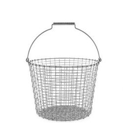 Bucket 24 Basket | Inox