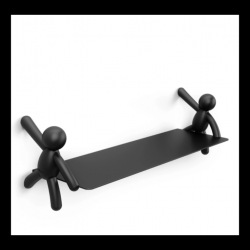 Wall Shelf Buddy | Black