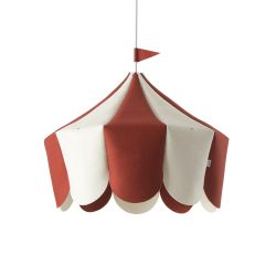 Hanging Lamp Circus | Red