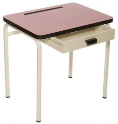 Child Desk Régine Vieux Rose