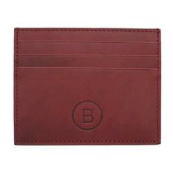 B' Card Holder | Bordeaux