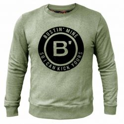 BVLLIN Bustin' Sweater  | Green
