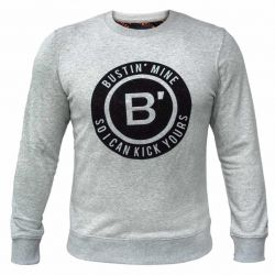BVLLIN Bustin' Sweater  | Grey