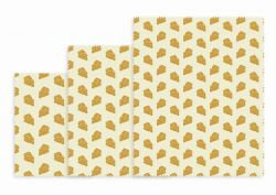 Reusable Lunch Wraps Set of 3 | Cheese