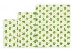 Reusable Lunch Wraps Set of 3 | Broccoli