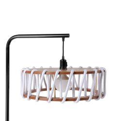 Floor Lamp Macaron 45 cm | Black / White
