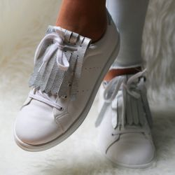 Shoe Fringes | Soft Silvertronic