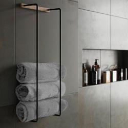 Towel Rack | Natural Oak