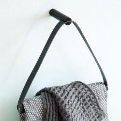 Handtuchbügel | Schwarz