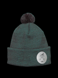 Reflective Kids Beanie Kuje | Forest Green