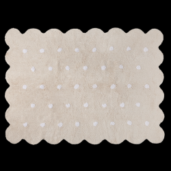 Washable Rug | Biscuit | Beige