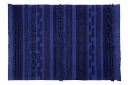 Washable Rug | Alaska | 200 x 140 cm | Blue