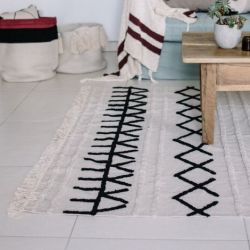 Washable Rug | Bereber Canvas | 160 x 120 cm