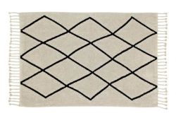 Washable Rug | Bereber Canvas | 200 x 140 cm | Beige