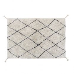 Waschbarer Teppich Mini Bereber