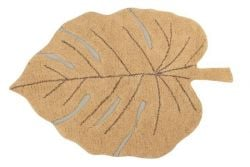 Washable Rug | Monstera | Honey Yellow