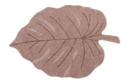 Washable Rug | Monstera | Vintage Nude