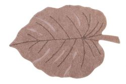 Tapis Lavable | Monstera | Vintage Nude