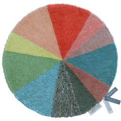 Wollteppich Kreisdiagramm