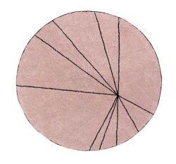 Washable Rug | Trace | Vintage Pink