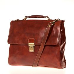 Ledertasche Federico | Brown