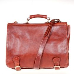 Ledertasche Amico | Brown
