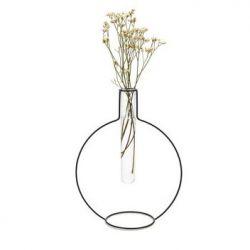 Vase Runde Silhouette XL | Schwarz