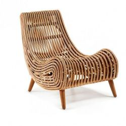 Lounge Chair XL | Rattan