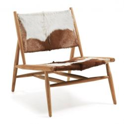 Lounge Chair | Cow Hide