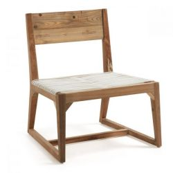 Lounge Chair | Natural Wood