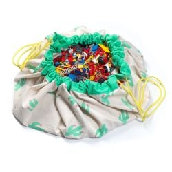 Toy Storage Bag | Cactus