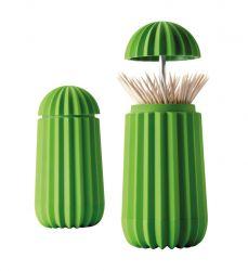 Zahnstocherhalter Kaktus | Grün