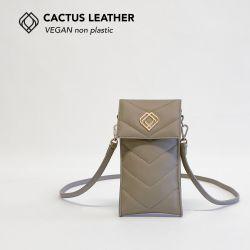 Handytasche - Kaktusleder | Sand