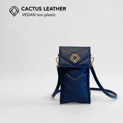 Handytasche - Kaktusleder | Nachtblau
