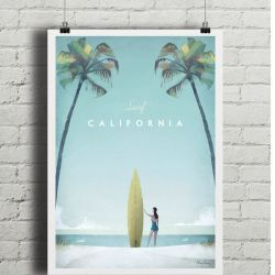 Travel Poster | California
