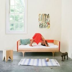 Caravan Divan/Junior Bed- Red