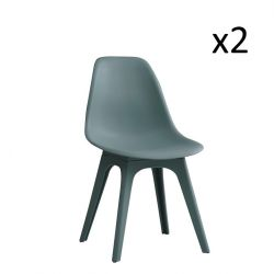 Chairs Carina Set of 2 | Green