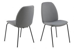 Chair Mita | Set of 2 | Light Grey