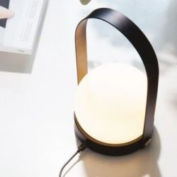 Carrie LED-Lampe | Schwarz