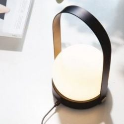 Carrie LED Lamp | Black